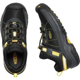 Keen Targhee Sport Shoes Youth, black/keen yellow